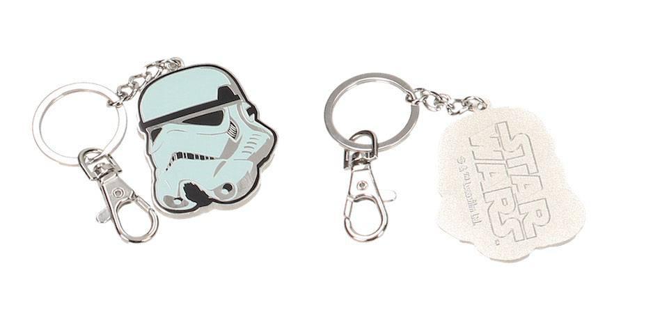 Star Wars Metal Keychain Stormtrooper Helmet --- DAMAGED PACKAGING
