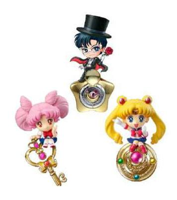 Sailor Moon Keychain 3-Pack Twinkle Dolly Special Set 5 cm