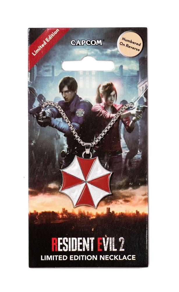 Resident Evil 2 Necklace Umbrella Logo