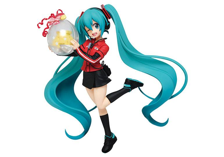 Vocaloid PVC Statue Hatsune Miku Taito Uniform Version 18 cm