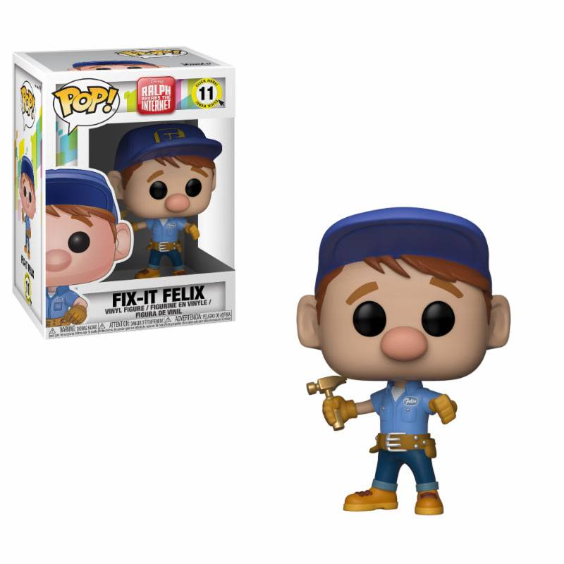 Wreck-It Ralph 2 POP! Movies Vinyl Figure Fix-It Felix 9 cm