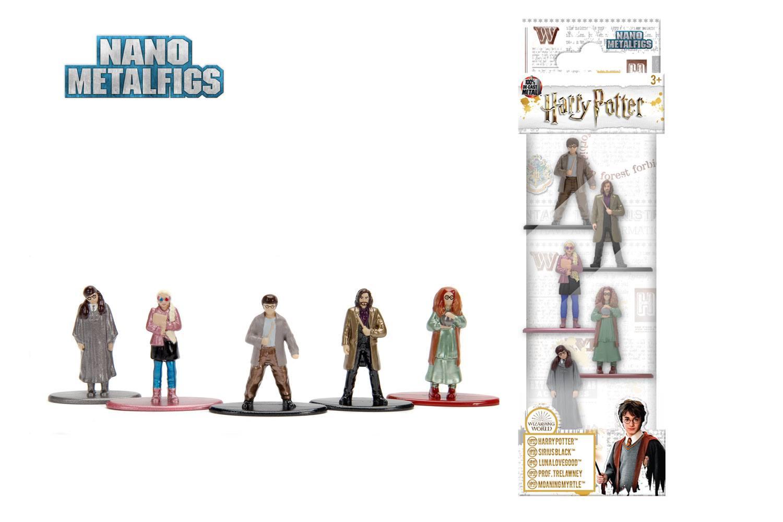 Harry Potter Nano Metalfigs Diecast Mini Figures 5-Pack Wave 3B 4 cm