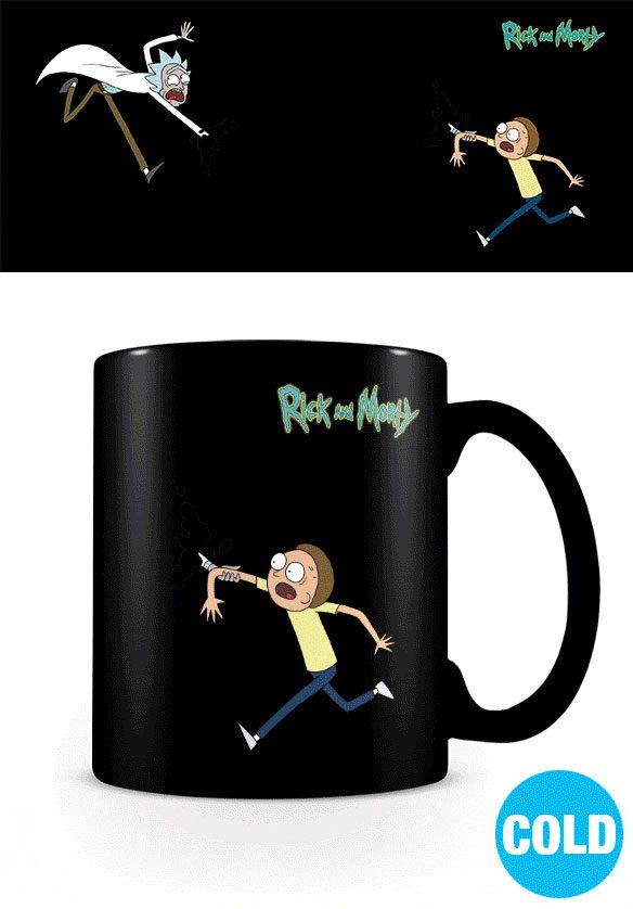 Rick and Morty Heat Change Mug Portals