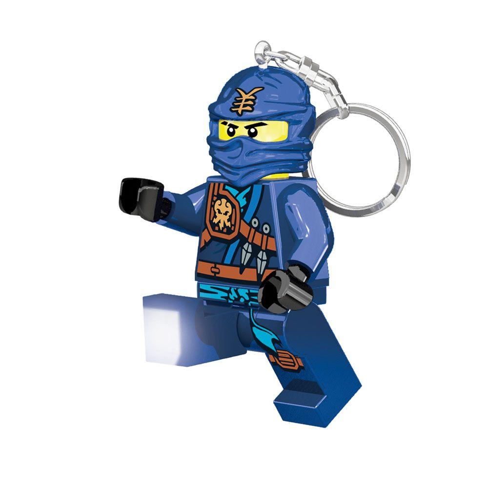 Lego Ninjago Mini-Flashlight with Keychains Jay