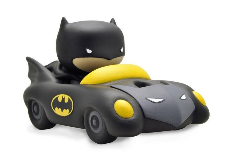 Justice League Chibi Bust Bank Batmobile 17 cm --- DAMAGED PACKAGING