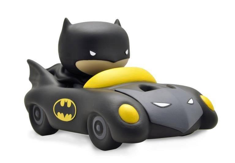 Justice League Chibi Bust Bank Batmobile 17 cm