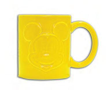 Mickey Mouse Relief Mug Yellow