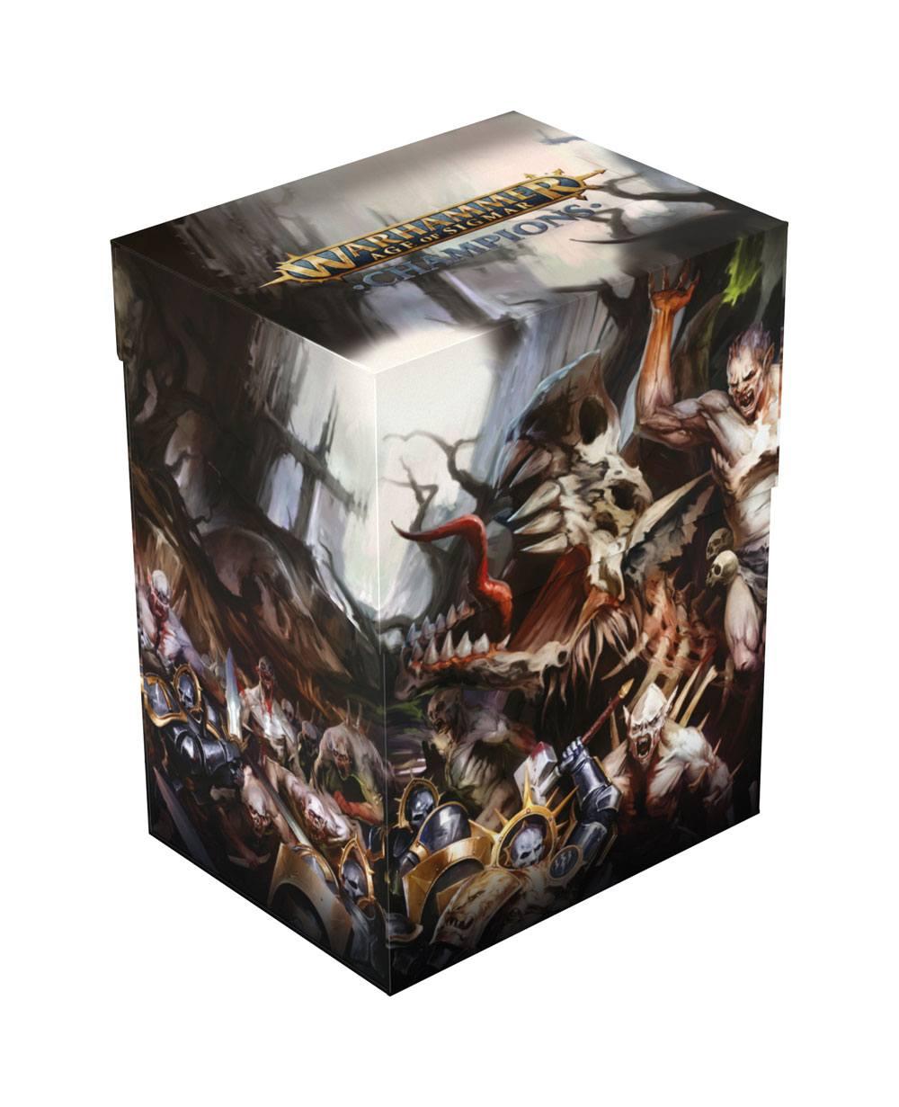 Warhammer Age of Sigmar: Champions Basic Deck Case 80+ Standard Size Order vs. Death