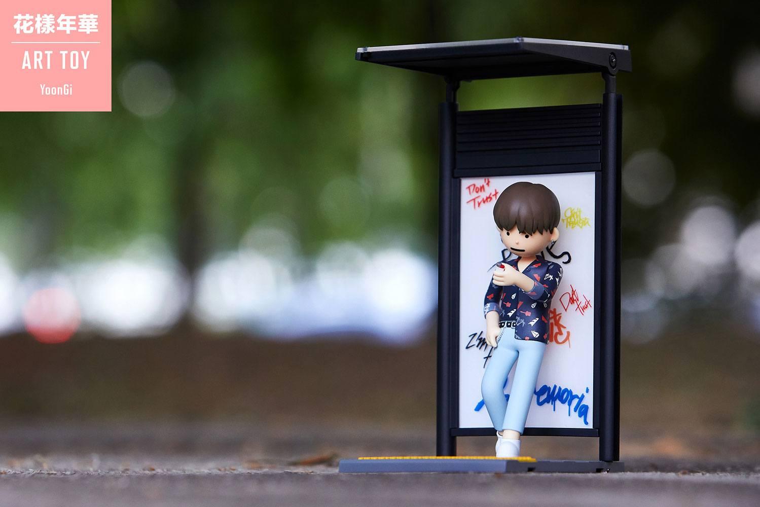 BTS Art Toy PVC Statue Suga (Min Yoongi) 15 cm