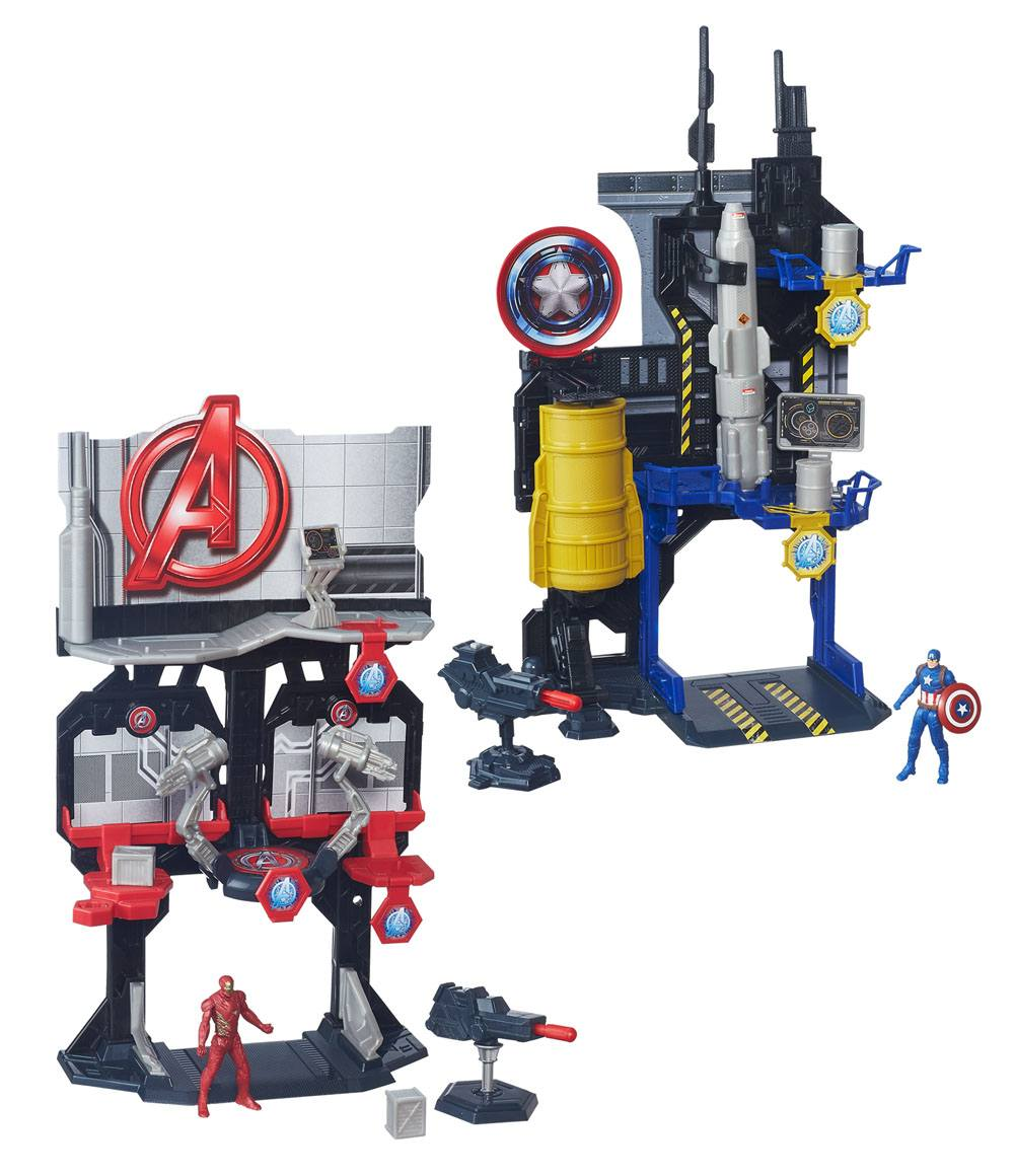 Captain America Civil War Miniverse Playsets 2016 Wave 1 4Assortment (4)