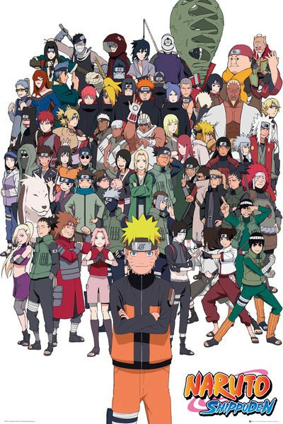 Naruto Poster Pack Group 61 x 91 cm (5)