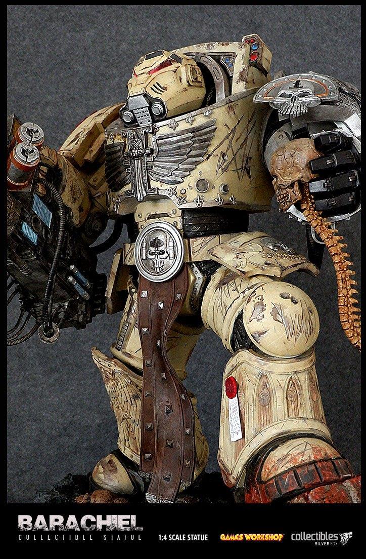 Space Hulk Deathwing Statue 1/4 Deathwing Terminator Barachiel 73 cm