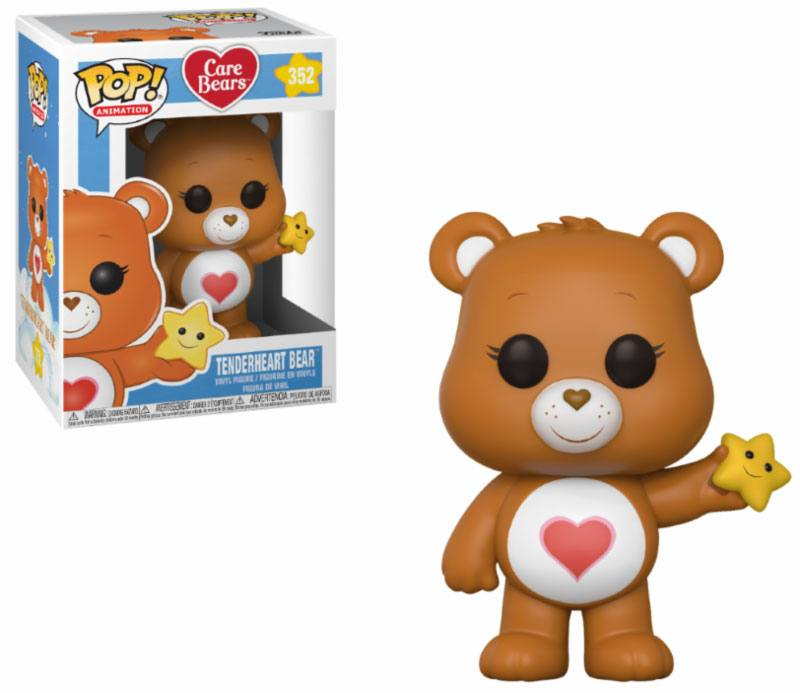 Care Bears POP! Animation Vinyl Figure Tenderheart Bear 9 cm