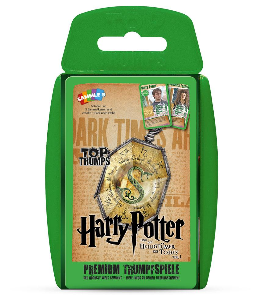 Harry Potter and the Deathly Hallows Part 1 Top Trumps *German Version*