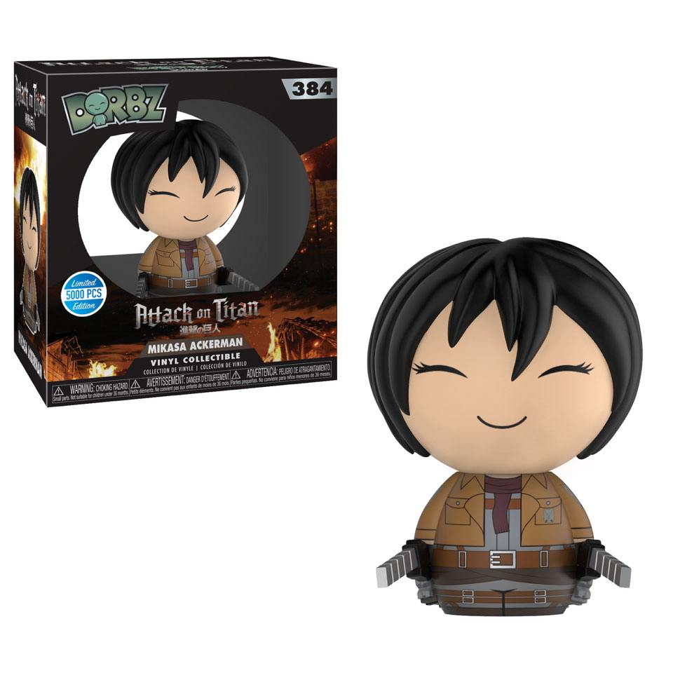 Attack on Titan Vinyl Sugar Dorbz Vinyl Figure Mikasa 8 cm