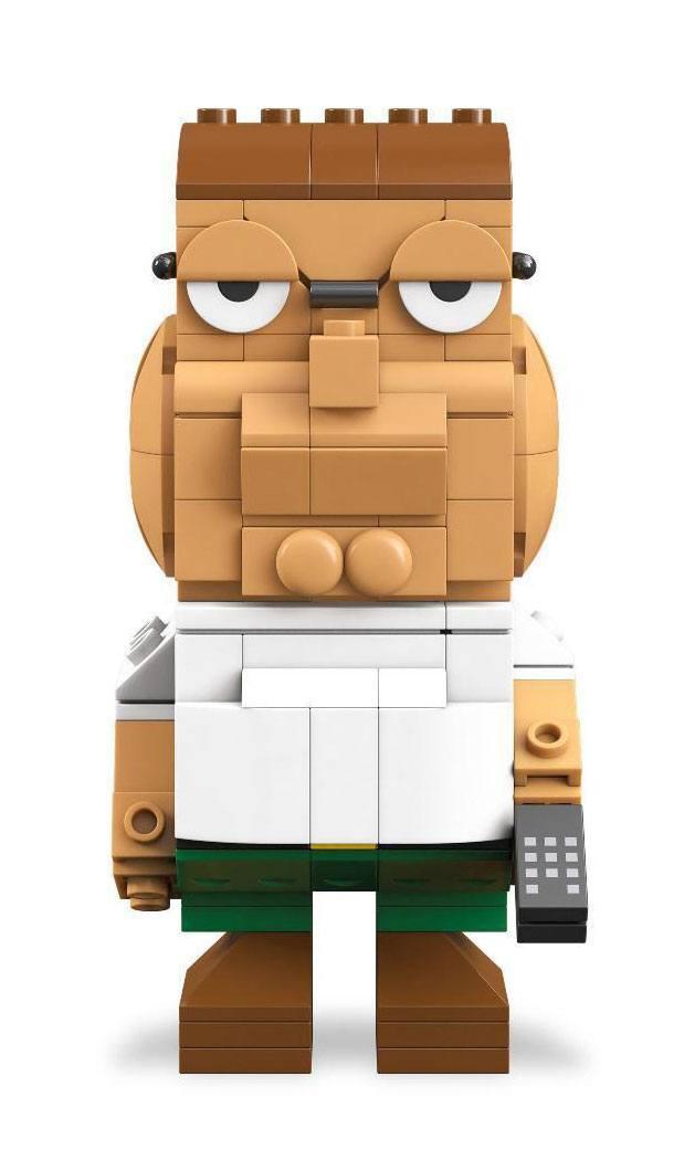 Family Guy Mega Construx Kubros Construction Set Peter Griffon 14 cm
