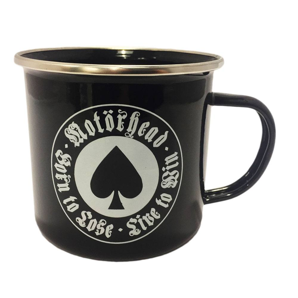 Motörhead Enamel Mug Born To Lose