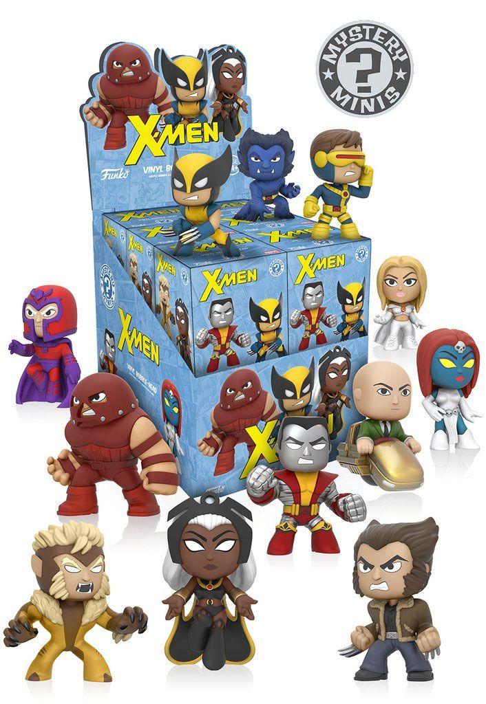 X-Men Mystery Mini Figures 6 cm Display (12)