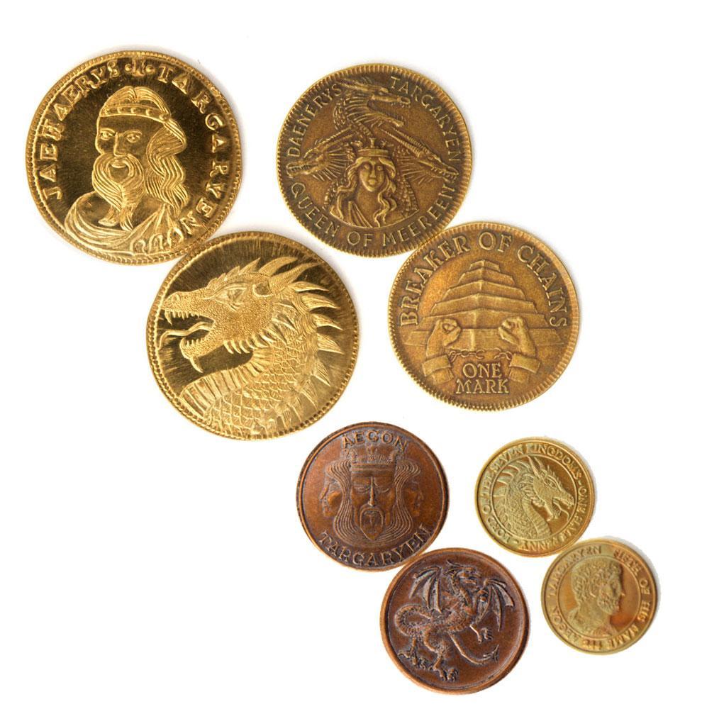 Game of Thrones Coin Set House Targaryen