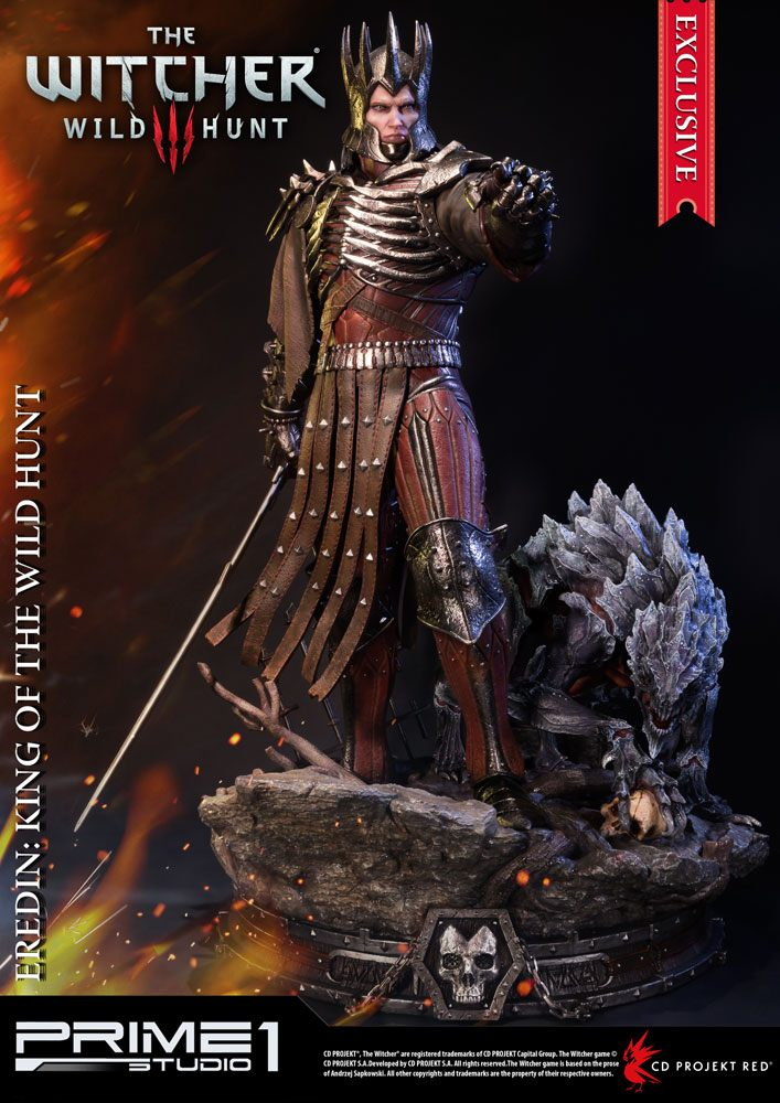 Witcher 3 Wild Hunt Statues Eredin & Eredin Exclusive 61 cm Assortment (3)