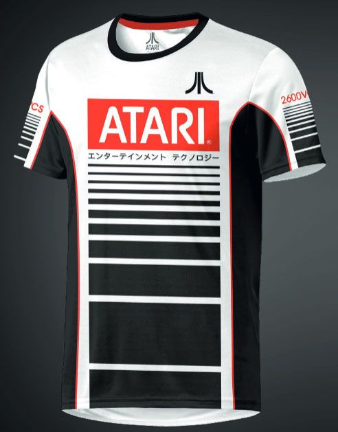 Atari eSport Gear Functional T-Shirt Racer Size XL