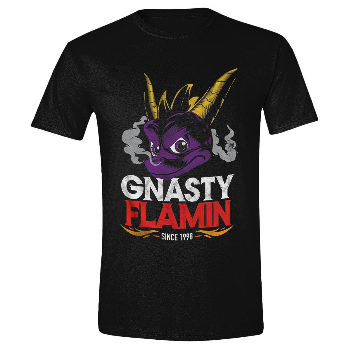 Spyro T-Shirt Gnasty Flamin Size XL