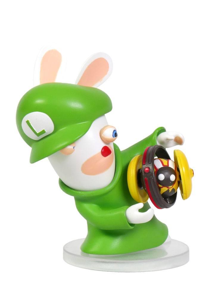 Mario + Rabbids Kingdom Battle PVC Figure Rabbid-Luigi 8 cm