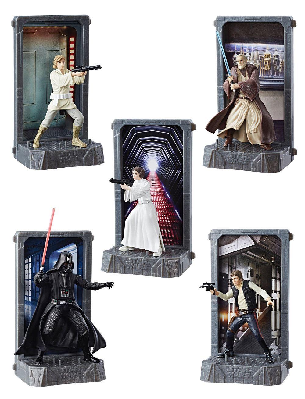 Star Wars Black Series Titanium Series Diecast Figures 10 cm 2017 Wave 1 Assortment (6)