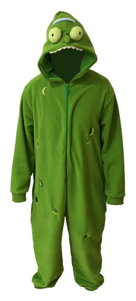 Rick and Morty Onesie Pickle Rick Size XL