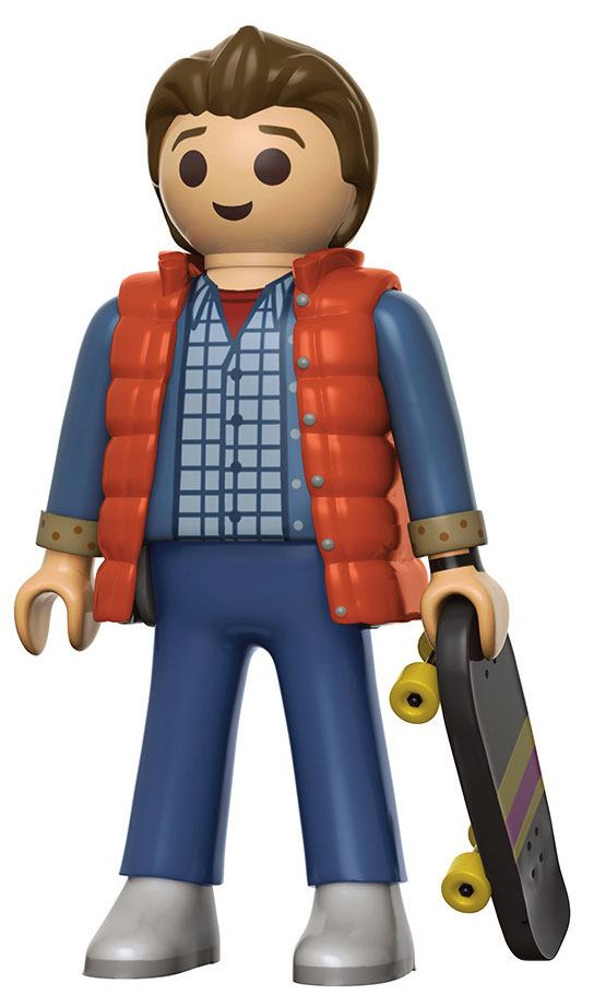 Back to the Future Funko x Playmobil Vinyl Figure Marty McFly 15 cm