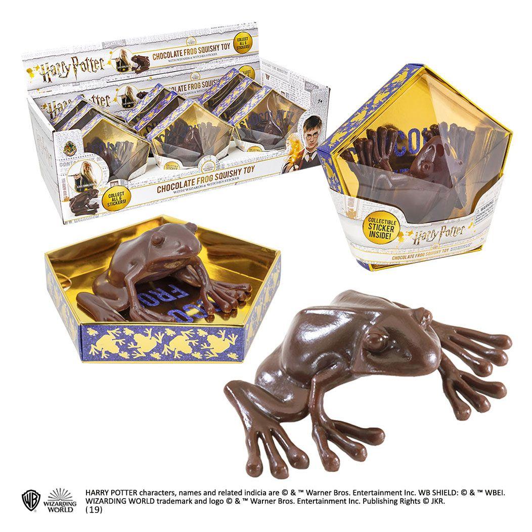 Harry Potter Replica Squishy Chocolate Frog Display (9)