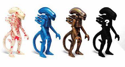 Alien ReAction Action Figures 10 cm Blind Box Wave 2 Display (12)