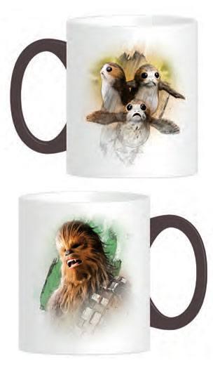 Star Wars Episode VIII Mug Chewie & Porgs