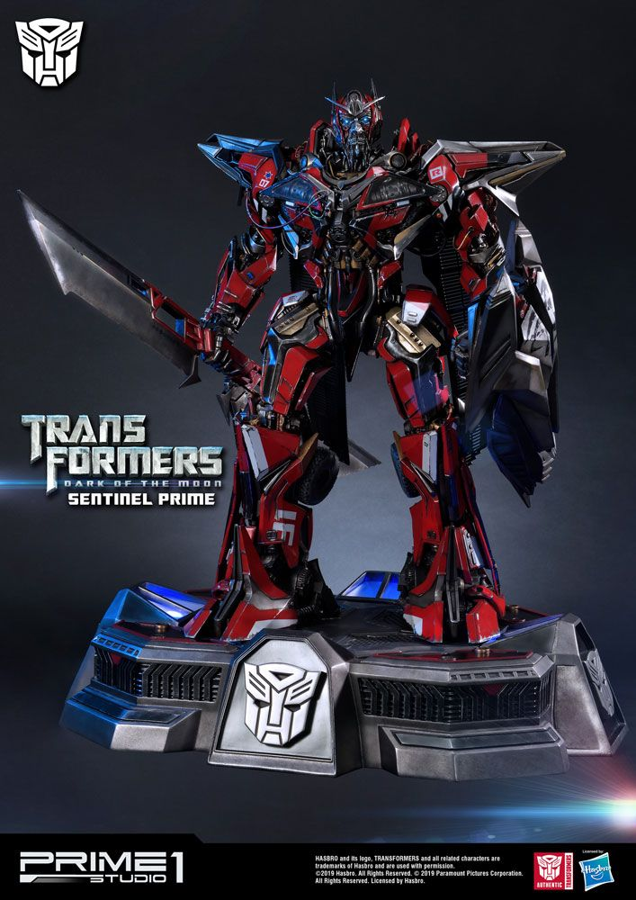 Transformers: Dark of the Moon Statue Sentinel Prime 73 cm
