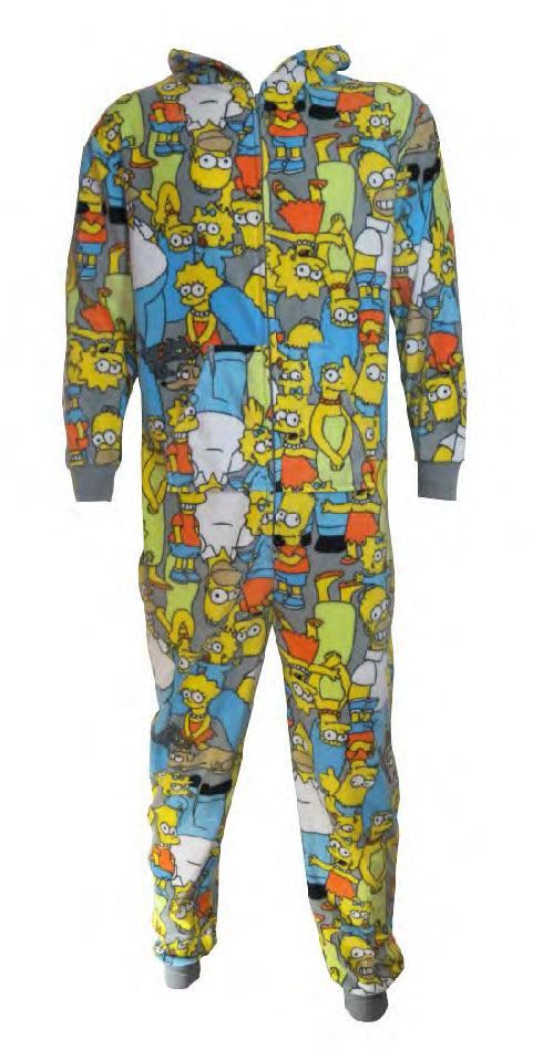 Simpsons Onesie Characters Size L