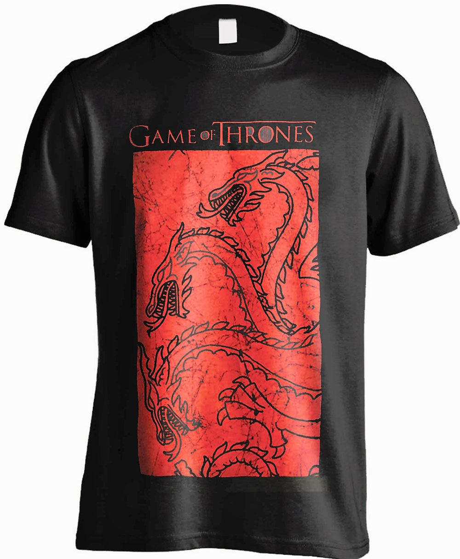 Game of Thrones T-Shirt Targaryen Red Size XL