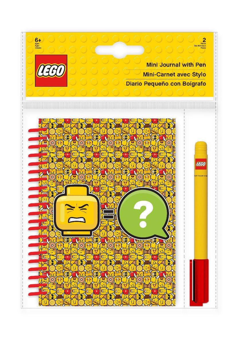 LEGO Iconic Mini Journal with Pen