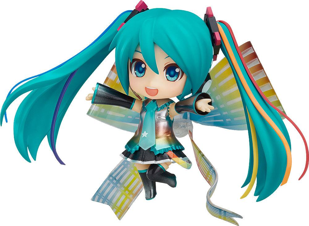 Character Vocal Series 01 Nendoroid Action Figure Hatsune Miku 10th Anniversary Ver. 10 cm