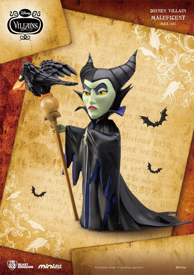 Disney Villains Mini Egg Attack Figure Maleficent 9 cm