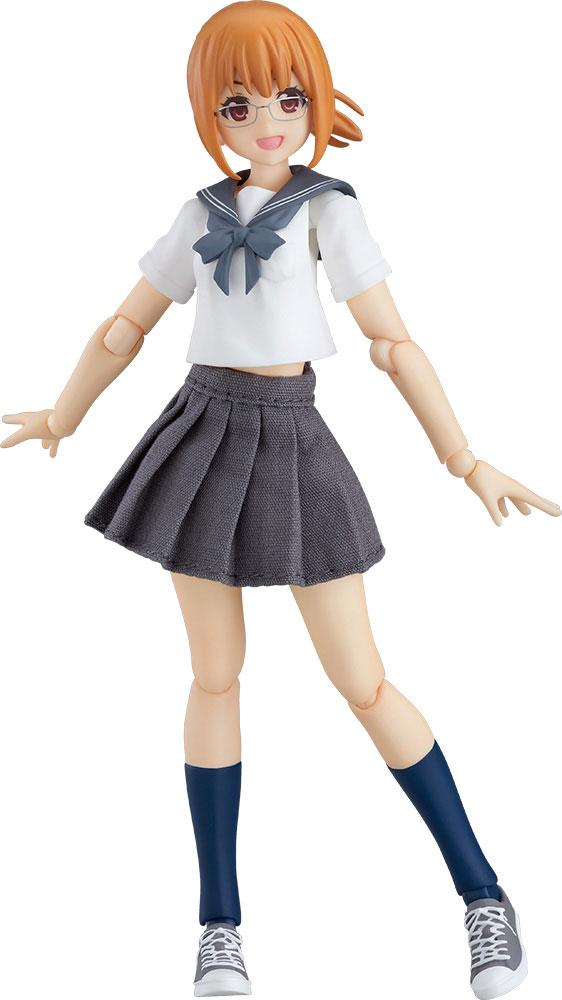 Original Character Figma Action Figure Female Sailor Outfit Body (Emily) 13 cm