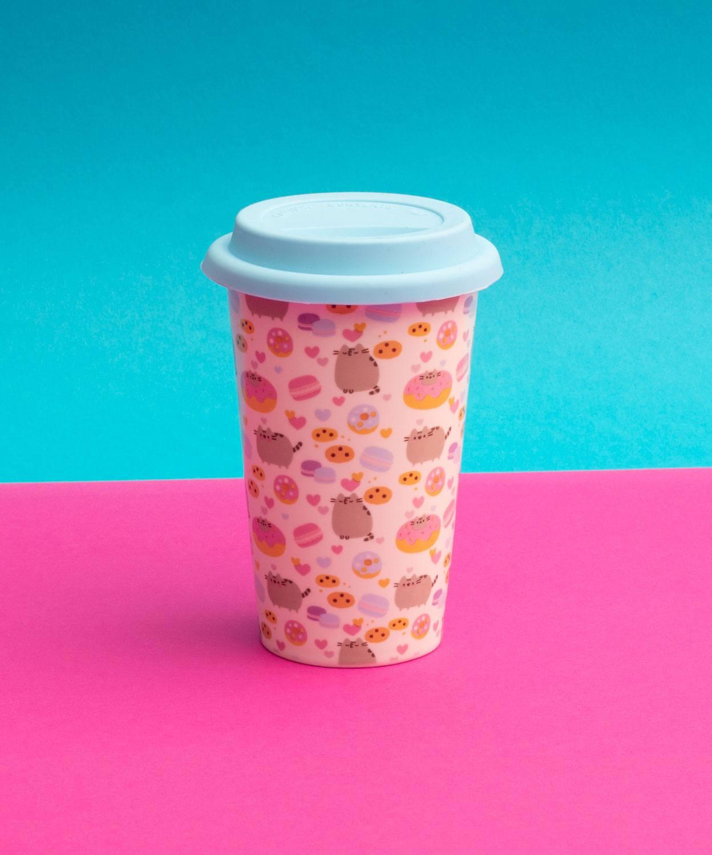 Pusheen Travel Mug Donut