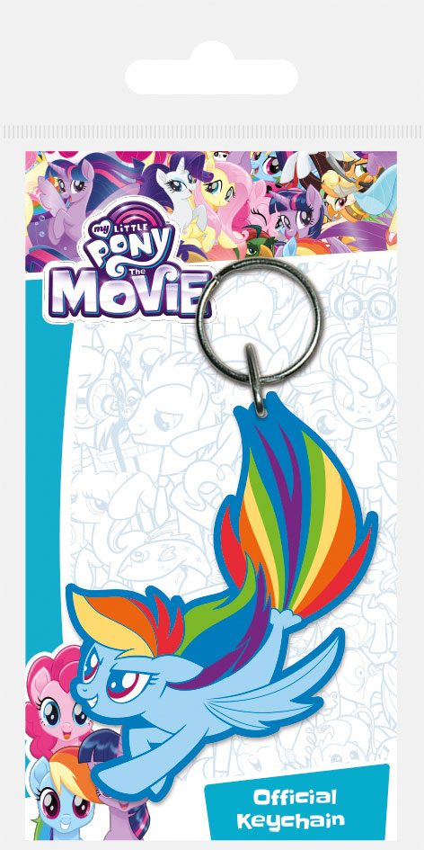 My Little Pony Rubber Keychain Rainbow Dash Sea Pony 6 cm