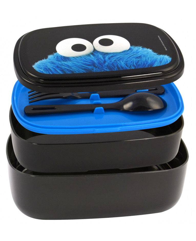 Sesame Street Bento Box Set Cookie Monster
