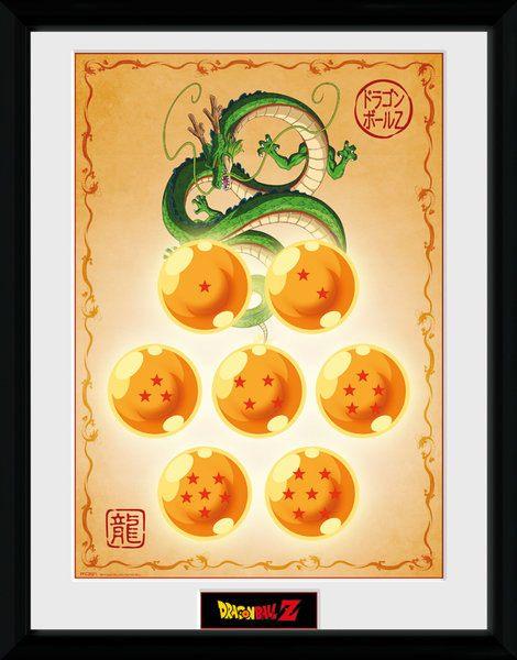Dragonball Z Framed Poster Dragon Balls 45 x 34 cm