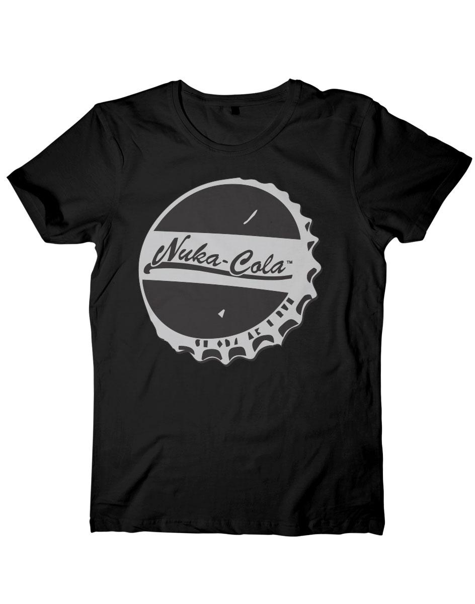 Fallout T-Shirt Nuka Cola Bottle Cap Size M