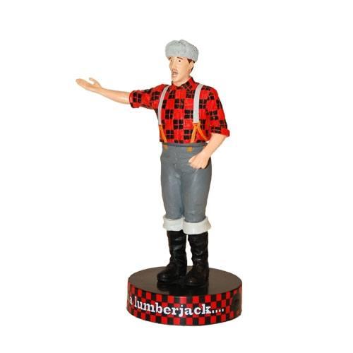 Monty Python Shakems Bobble-Figure with Sound Lumberjack 18 cm