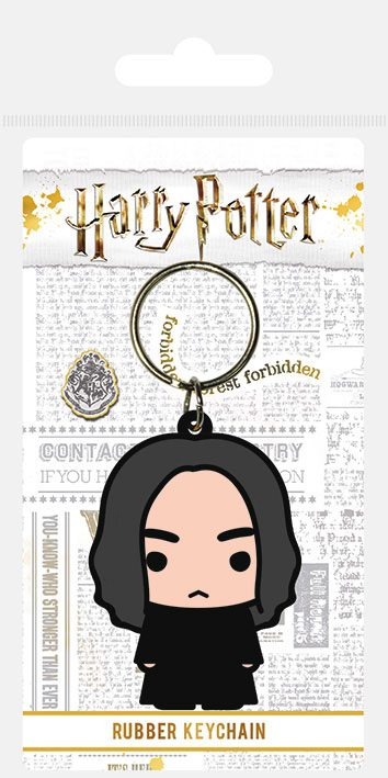 Harry Potter Rubber Keychain Chibi Snape 6 cm