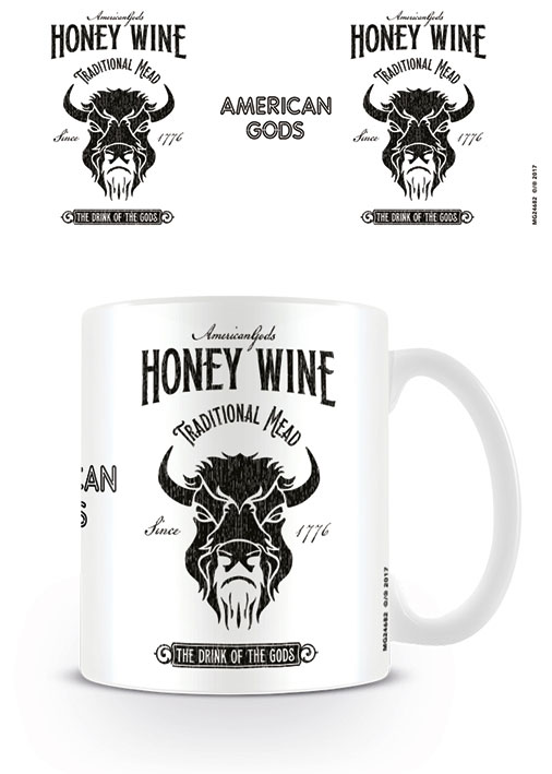 American Gods Mug Honey Wine