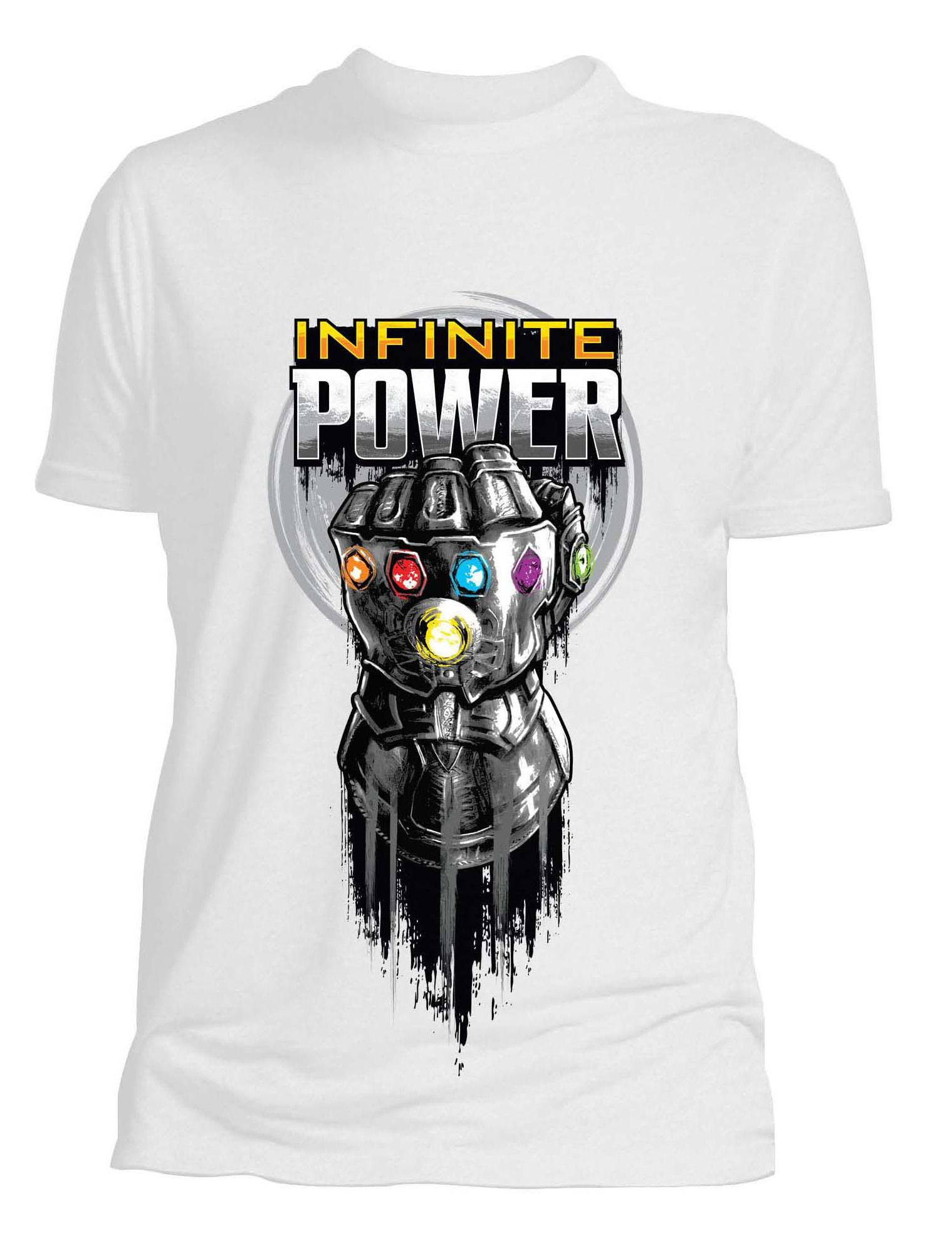 Avengers Infinity War Ladies T-Shirt Glove Size XL