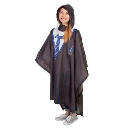 Harry Potter Rain Poncho Ravenclaw